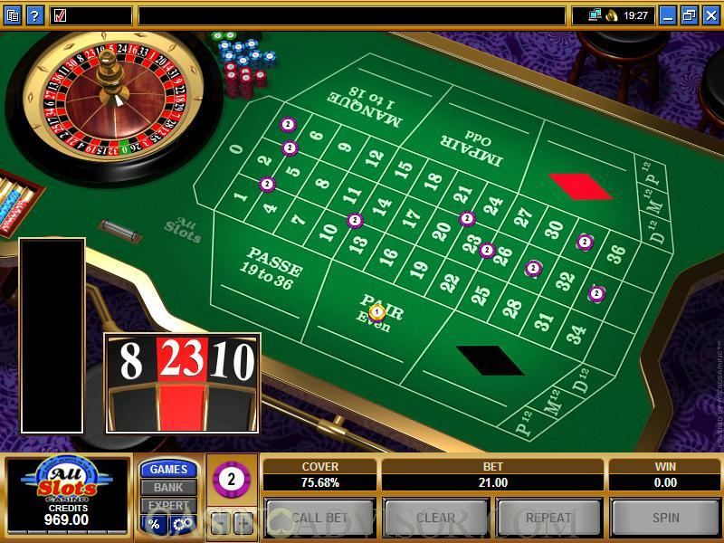 Microgaming French Roulette celebri 58829