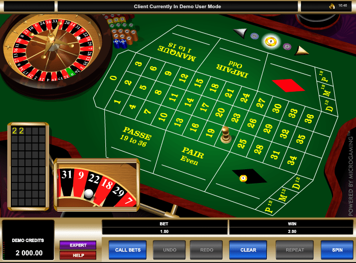 Microgaming French Roulette celebri 41664